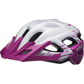 KED Status Jr. casco per bici Bambino viola
